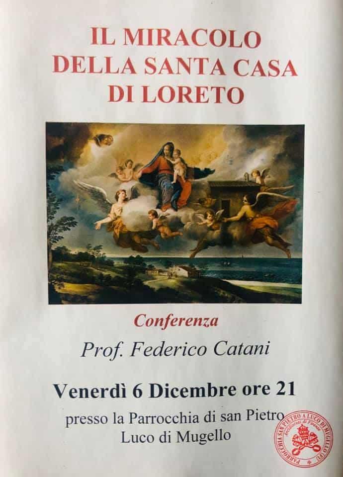 Un libro di FedericoCatani(che verrà presentato il 6 dicembre aLucodi Mugello) conferma il miracolo della Santa Casa di Loreto
