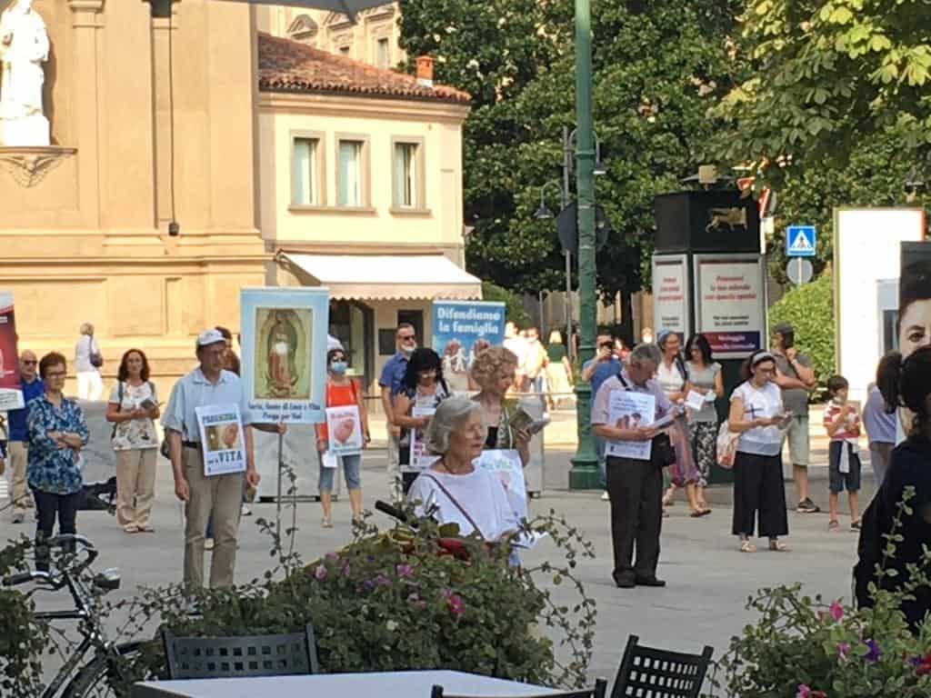 In tutta Italia manifestazioni contro la legge liberticida di Scalfarotto - Zan.